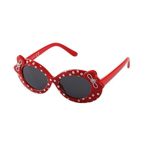 Lentes de seguridad Cute Bowknot Cat Eyes Gafas de sol para ...
