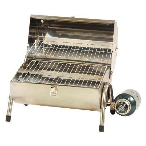Stansport Portable Stainless Steel Propane Barbeque Grill D&H Distributing