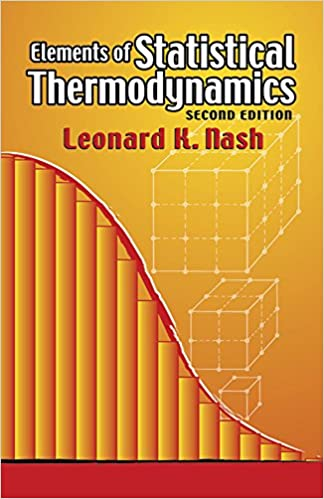 Book Elements of Statistical Thermodynamics (Dover Books on Chemistry)
