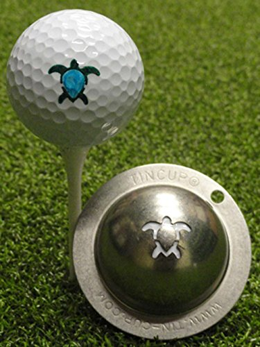 Tin Cup Golf Ball Custom Marker Alignment Tool Models (Honu Turtle)