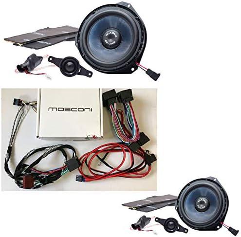 Gladen/Mosconi Fiat Ducato Juego Altavoces y amplificador: Amazon.es: Electrónica