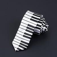 Zhongsufei Corbata Casual de Negocios para Hombre Piano Imprimir ...