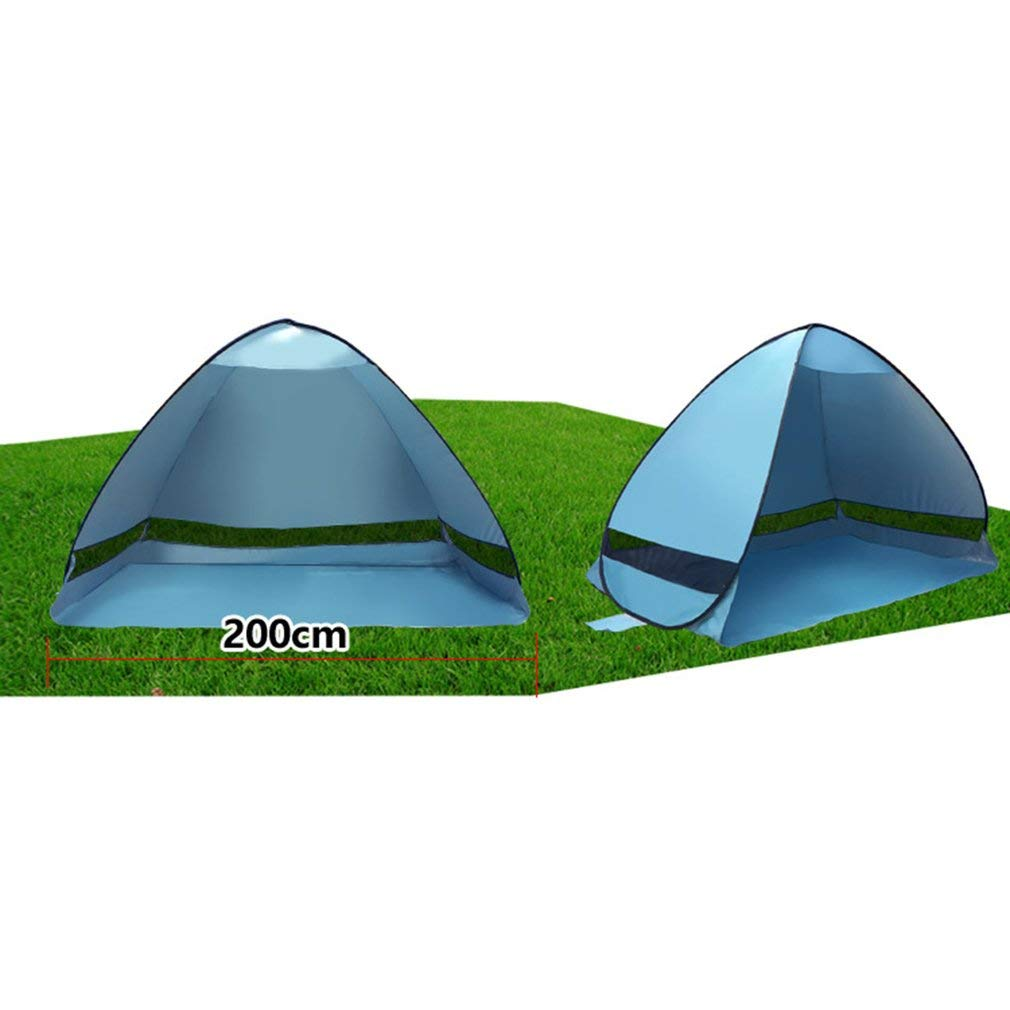 YTYC Outdoor Automatic Pop up Instant Portable Beach Tent UV Protective Sun Shelter