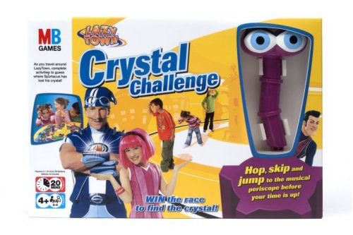 LazyTown Crystal Challenge Board Game]()