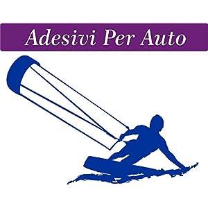 1 ADESIVO PER AUTO - 10x15 centimetri - KITE - KITESUR - KITESURFING - NOVITà!! auto moto camper - accessori surf… 1 spesavip
