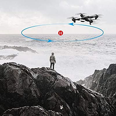 WHWYY 5G WiFi FPV GPS Drone 4K HD Camera Live Video Drones 36 mins Long Flight Time (18+18) Foldable Quadcopter with Auto Return Home Follow Me Professional Drone for Adults