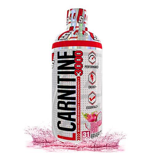 ProSupps L-Carnitine 3000 Liquid Fat Burner, Stimulant Free Metabolic Enhancer, 31 Servings (Dragon Fruit Flavor)