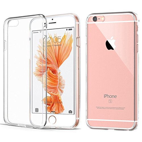 - iPhone 6/6S Clear Case, [Anti-Discoloration] [Slim] (Crystal Clear)