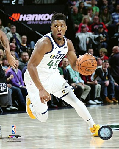 "Donovan Mitchell Utah Jazz NBA Action Photo (Size: 11"" ..."
