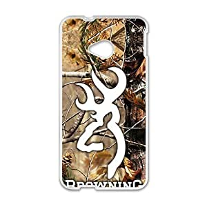 Browning White htc m7 case