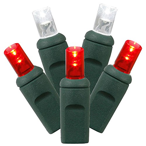 Red And Green Led Christmas Tree Lights - 3