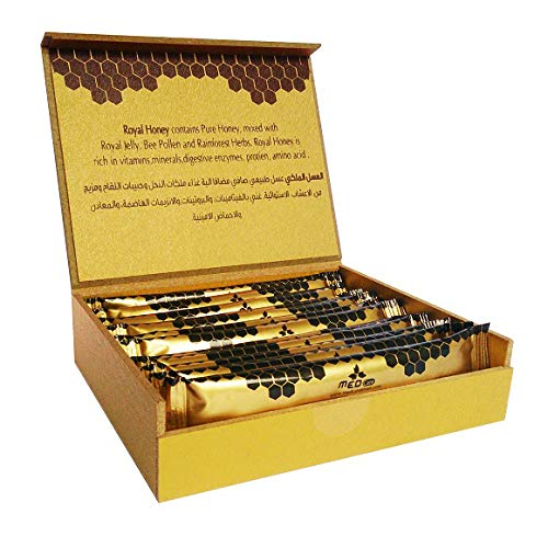 - Authentic Golden Royal Honey 20g X 12 sachets