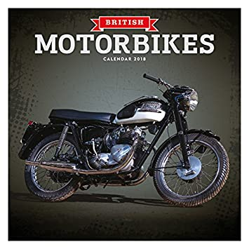 Calendrier 2018 Moto De Collection Anglaise Bt Triumph Moto