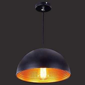Bronce Industrial moderno Hjuns Metal pintado lámpara ...