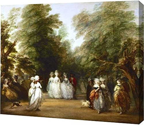 The Mall in St. James's Park by Thomas Gainsborough - 18