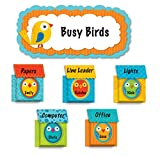 Carson Dellosa Boho Birds and Birdhouses Bulletin Board Set (110217)