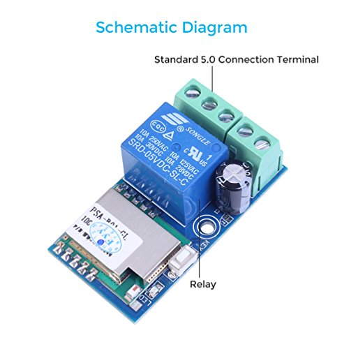 51prg6xE6gL.01_SL500_ wifi inching relay delay switch module low power smart home remote Basic Electrical Wiring Diagrams at bakdesigns.co