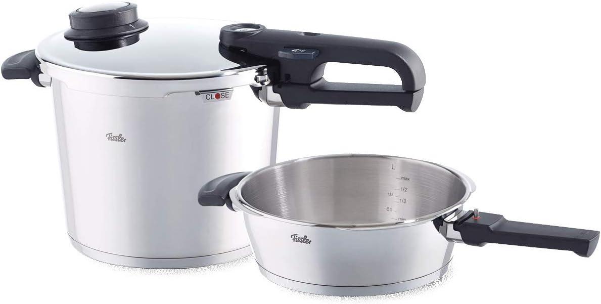 Fissler 620-300-11-000/0 - Juego de ollas a presión (acero ...