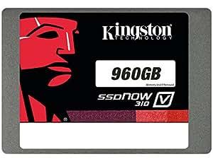 Kingston Digital 960GB SSDNow V310 SATA 3 2.5 (7mm height) Solid State Drive (SV310S37A/960G)