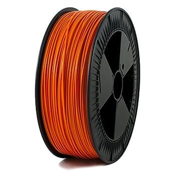 Amazon.com: Bobina de filamento impresora 3d, Pla, Naranja ...