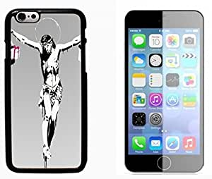 God Jesus Christ Cross Hard Plastic and Aluminum Back Case FOR Apple iPhone 6 6G 4.7 by runtopwell