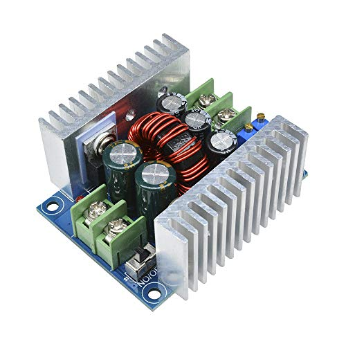 DC-DC Buck Converter, Aideepen 20A 300W CC CV Step Down Module DC 6-40V to DC 1.2-36V Adjustable Voltage Constant Current Power Supply Volt Reducer Module with Short Circuit Protection