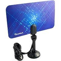 Mediasonic Homeworx HW110AN - Antena HDTV para interiores (superfina, alcance de 25 millas)