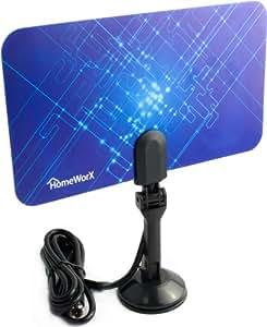 Mediasonic Homeworx HW110AN Super Thin Indoor HDTV Antenna - 25 Miles Range