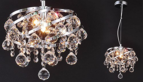 Hängelampe Kronleuchter Kristall ~ Oxana Ø cm kristall hängelampe deckenleuchte leuchte lüster