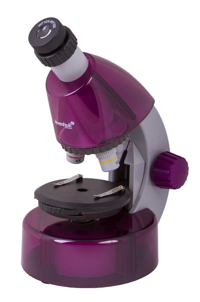 Levenhuk LabZZ M101 Amethyst Microscope for Kids with Experiment Kit by Levenhuk (Image #5)