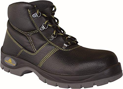 Delta plus calzado - Juego bota piel poliuretano negro talla 40(1 par)