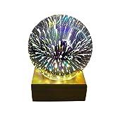 Nightlight,YJYdada USB Charging LED Colorful 3D Magical Dragonfly Light House Party Decor