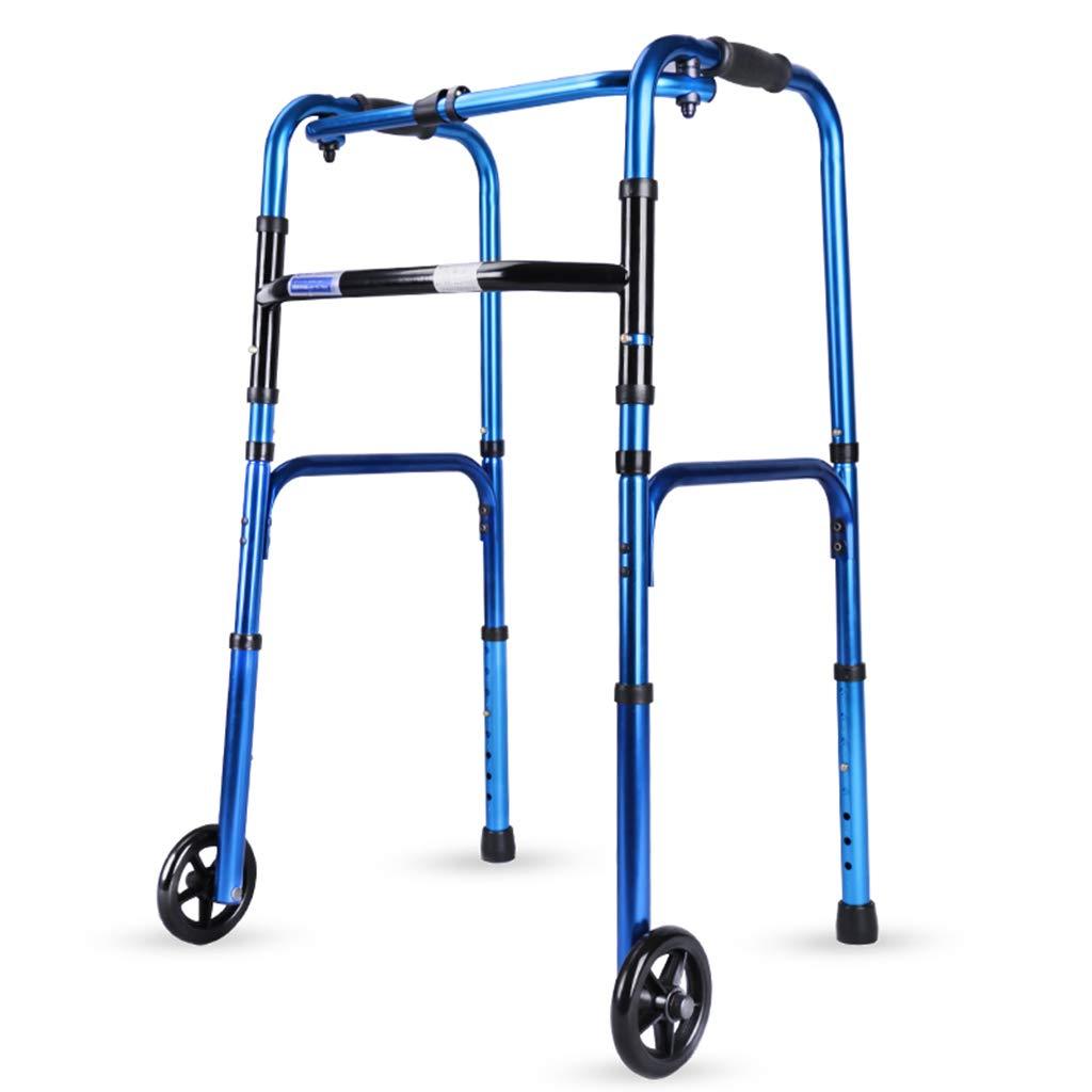 BZEI-WALKERS Caminantes del balanceo Andador Plegable de Gran ...