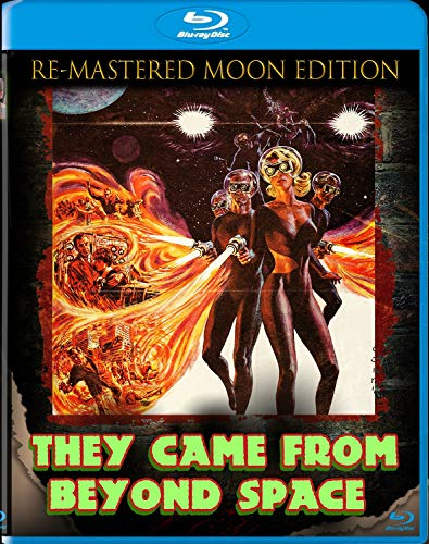 They Came From Beyond Space: The Re-Mastered Moon Edition [Blu-ray]