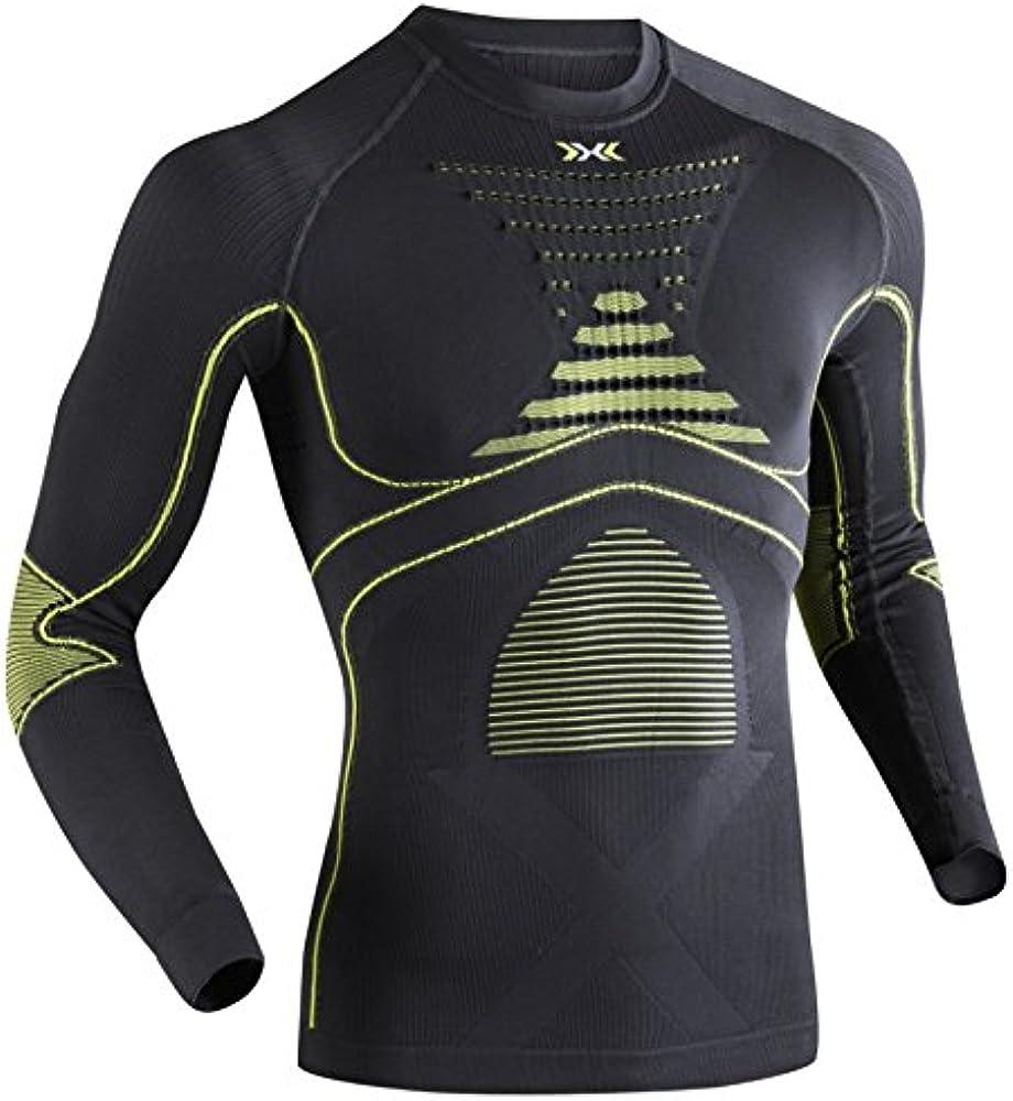 X-Bionic Eacc.Evo - Camiseta de compresión, de manga larga para ...
