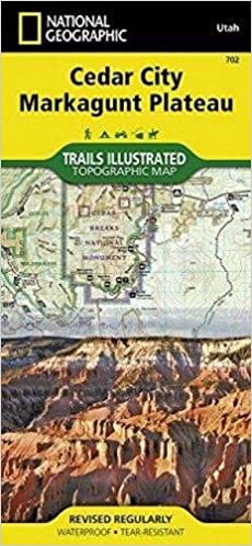 Cedar Mountain Ashdown Gorge Trails Illustrated Other Rec Areas