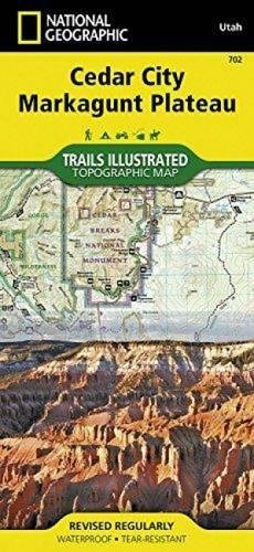 Read Online Cedar City, Markagunt Plateau (National Geographic Trails Illustrated Map) pdf