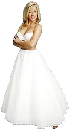 A Line Full Bridal Petticoat Crinoline Wedding Slip CH106DS