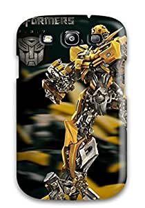 CaseyKBrown Scratch-free Phone Case For Galaxy S3- Retail Packaging - Bumblebee
