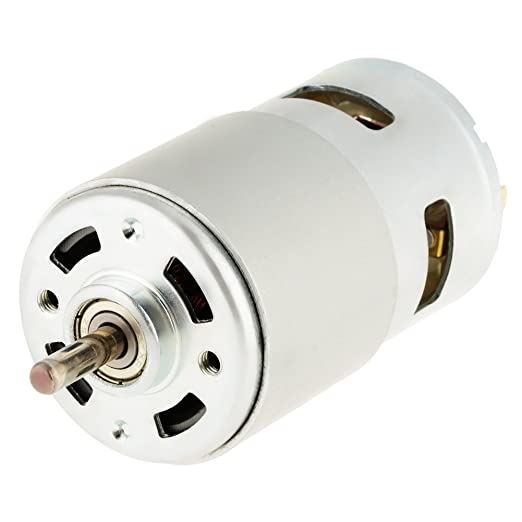 DC Motor 60W 12 V 16000 RPM High Speed Electric Small Micro Great Moment of Force Brushless Motor Metal Gear for Power Tools