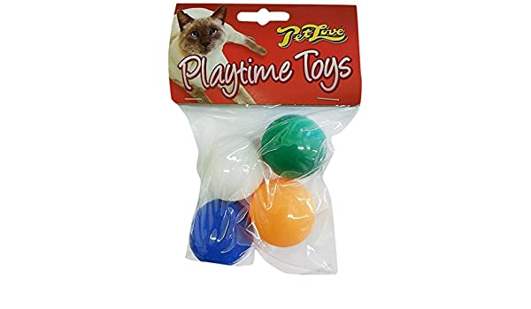Pet Love Playtime Ping Pong Balls for Cats