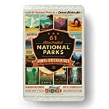 61-Piece Deluxe National Parks Sticker Set (Now includes Gateway Arch and Indiana Dunes National Parks)