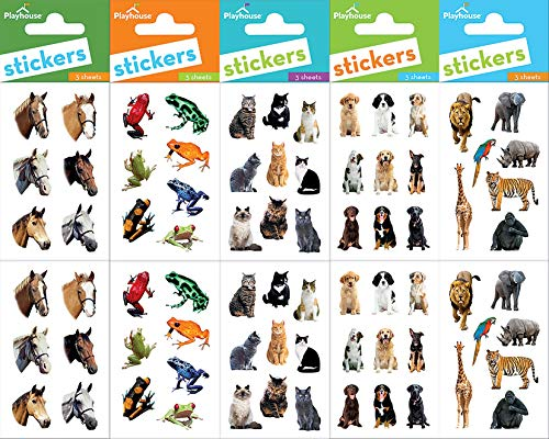 Playhouse Animal Antics Super Sticker Sheet - Antics Animal Sheet