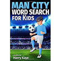 Man City Word Search for Kids