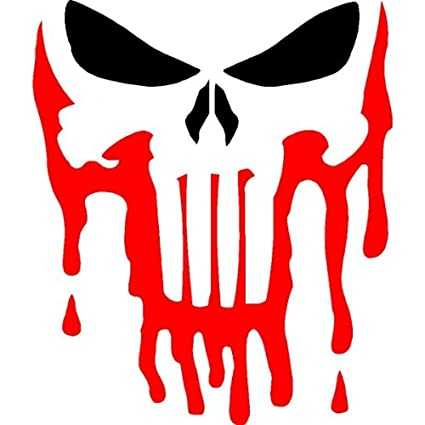amazon com punisher stencil