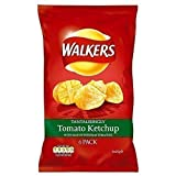 Walkers Crisps - Tomato Ketchup (6x25g)