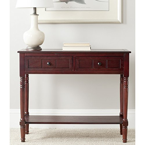 Safavieh American Homes Collection Samantha Dark Cherry 2-Drawer Console -