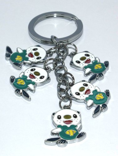 Oshawott Pokemon Collectible Pokedoll Charms Metal Keycha...