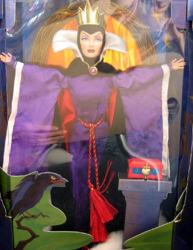 Disney Snow White EVIL QUEEN Barbie Doll - Limited Edition Great Villians 4th in Series (1998) by Unknown ()