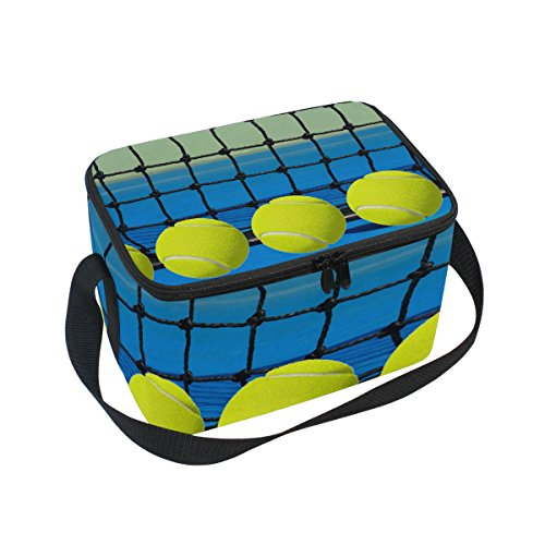 - Abbylife Tennis Ball Insulated Lunch Bag Reusable Tote Bag 10